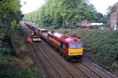 60 008 at Urmston on 23rd October 2005 (1)