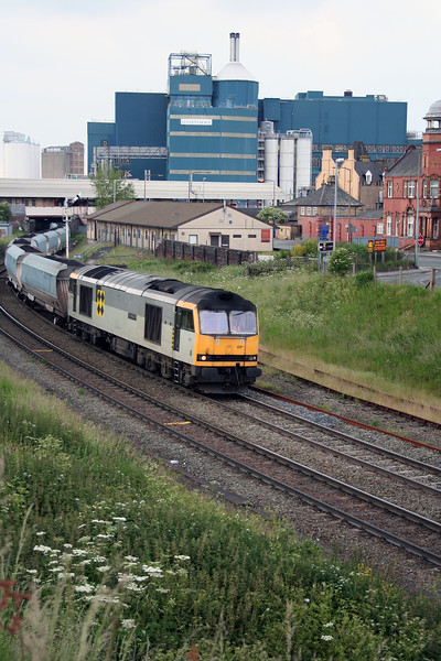 60 091 at Warrington Arpley on 11th June 2005 (2)