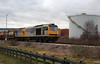 60 056 at Runcorn Folly Lane on 15th January 2007
