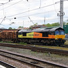 66 850 at Warrington Bank Quay on 24th June 2013