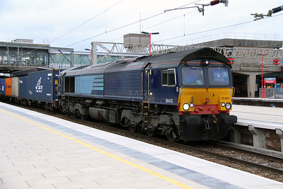 66 418 at Stafford on 5th March 2014