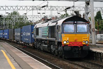 66 416 at Stafford on 2nd July 2007