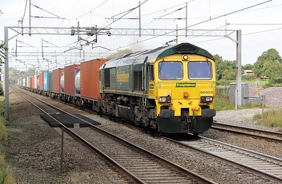 66 503 at Acton Bridge on 21st September 2010