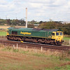 66 607 at Winwick Junction on 18th September 2006