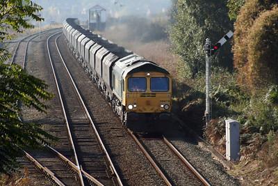 66 619 at Halton (Runcorn) on 24th October 2007 (1)