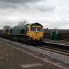 66 612 at Frodsham on 7th April 2008