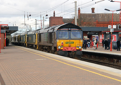 66413 at Wigan North Western on 9th April 2016