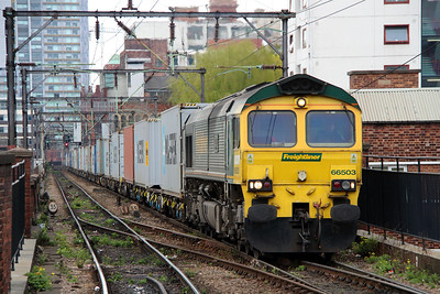2) 66 503 at Manchester Piccadilly on 19th April 2014
