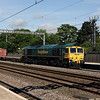 66 557 at Tamworth Low Level on 3rd June 2017