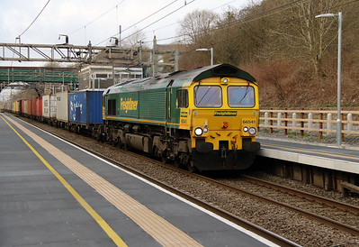 66 541 at Hartford on 2nd March 2016