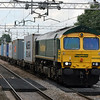 66 588 at Acton Bridge on 29th August 2007