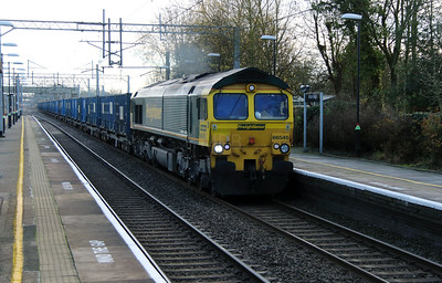 66 545 at Acton Bridge on 2nd December 2014 (4)