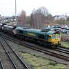 66 514 at Warrington Arpley Junction on 26th February 2014