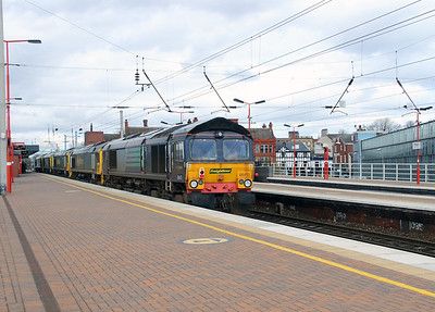 66 413 at Wigan North Western on 9th April 2016