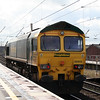 66 602 at Warrington Bank Quay on 8th April 2006