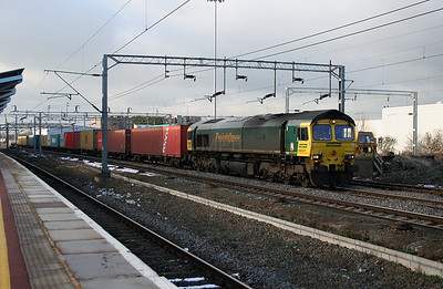 66 501 at Rugby on 24th January 2007