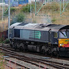 66 420 at Crewe Salop Goods on 20th August 2014 (2)