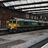 66 528 at Stoke-on-Trent on 27th December 2014 (2)