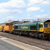 66 614 at Crewe on 22nd July 2014 (1)