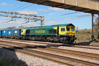4) 66 528 at Acton Bridge on 19th April 2016