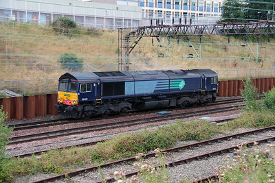66 420 at Crewe Salop Goods on 20th August 2014 (3)
