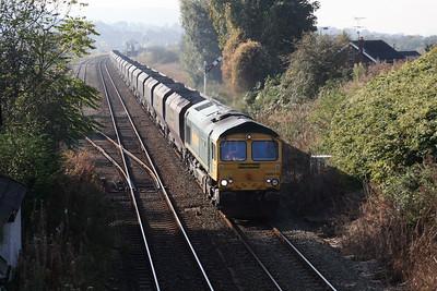 66 619 at Halton (Runcorn) on 24th October 2007 (2)