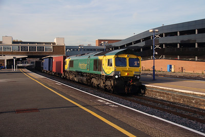 66 420 at Banbury on 31st October 2016
