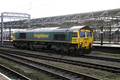 1) 66 504 at Crewe on 3rd February 2005