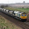 66 614 at Daresbury on 1st April 2008 (2)