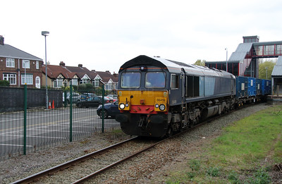 66 419 at Runcorn on 15th October 2014 (3)