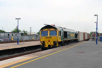 66 501 at Banbury on 8th June 2016