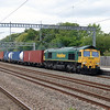 66 556 at Tamworth Low Level on 20th August 2014 (2)