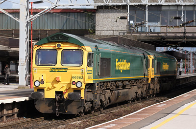 66 562 at Stafford on 2nd July 2007