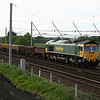 66 554 at Winwick Junction on 24th May 2006