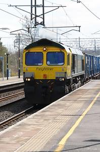 1) 66 528 at Acton Bridge on 19th April 2016