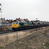 66 614 at Monks Sidings on 1st April 2008