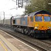 66 708 at Acton Bridge on 17th April 2014