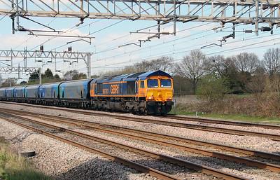 1) 66 763 at Acton Bridge on 19th April 2016