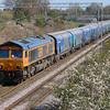 66 704 at Acton Bridge on 19th April 2016