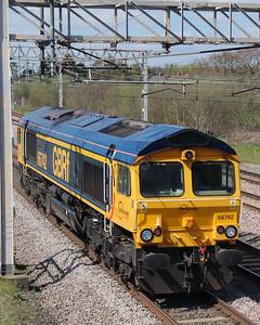 66742 at Acton Bridge on 19th April 2016