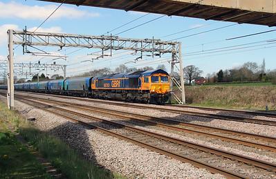 2) 66 763 at Acton Bridge on 19th April 2016