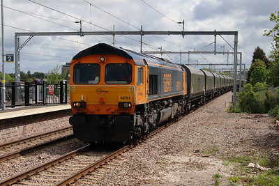 66 701 at Roby on 19th May 2015 (6)