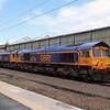 66 736 at Crewe on 18th May 2015 (2)