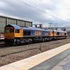 66 708 at Crewe on 18th May 2015 (2)