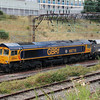 66 716 at Crewe Salop Goods on 20th August 2014