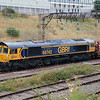 66 742 at Crewe Salop Goods on 20th August 2014 (2)