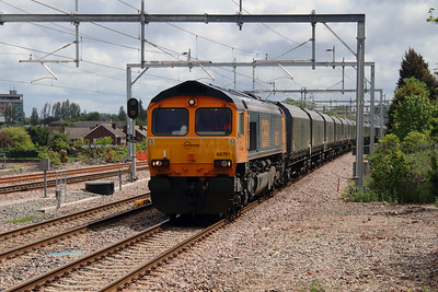 66 701 at Roby on 19th May 2015 (4)