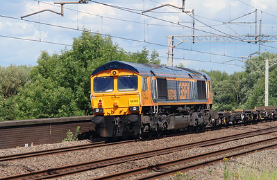 66749 at Tamworth Low Level on 2nd July 2016