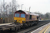 66 037 at Tamworth High Level on 21st January 2015 (4)