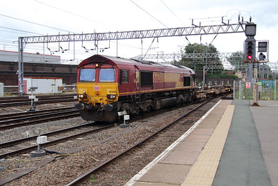 66 200 at Crewe on 2nd September 2016